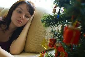 La malinconia delle feste natalizie
