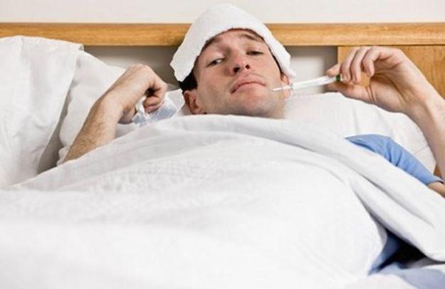 influenza temperature