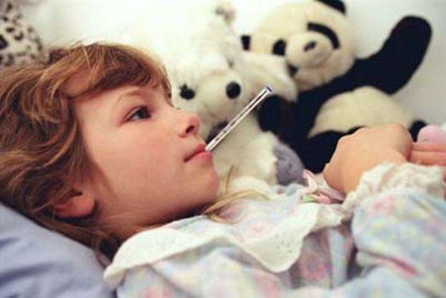 febbre primaverile bambini