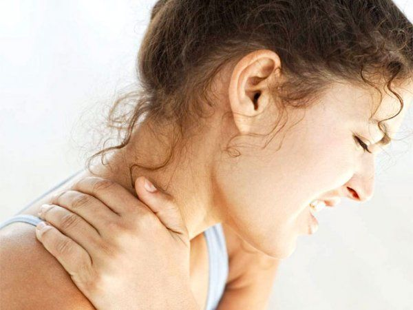 contrattura muscolare schiena e collo