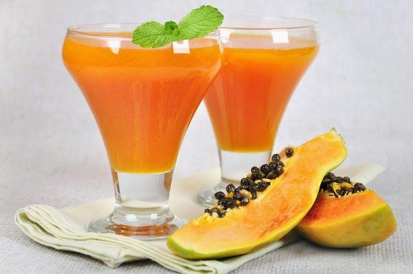 centrifuga di papaya e mango
