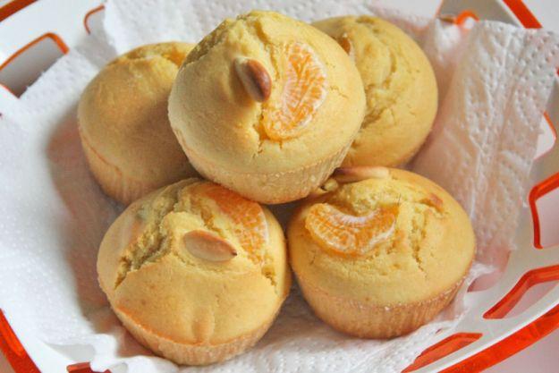 muffin mandarino mandorle