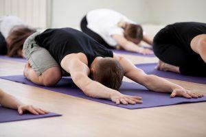 Posizione della devozione yoga