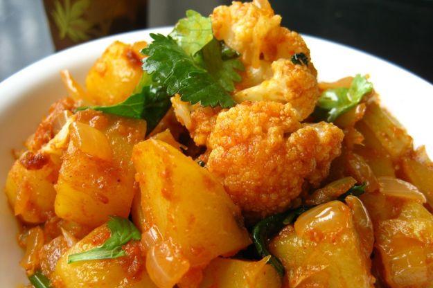 cavolfiori patate saporite