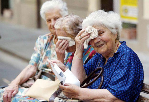 caldo e anziani