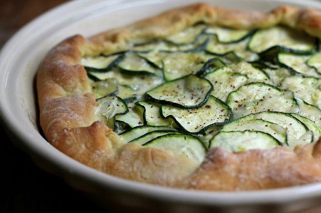 Torta salata zucchine ricotta prosciutto