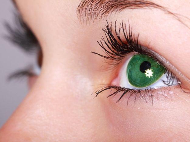 Occhi cheratite