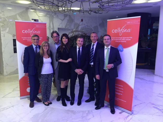 Presentazione Cellfina in Italia