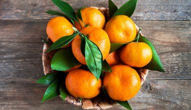 Cesta di clementine