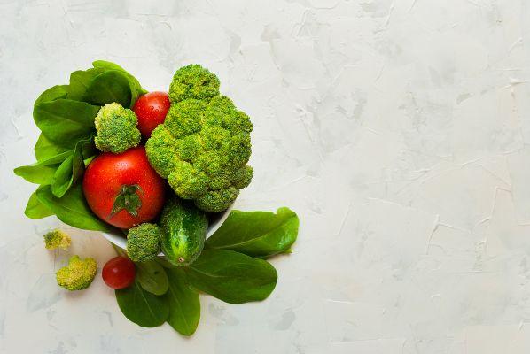 Acido malico verdura
