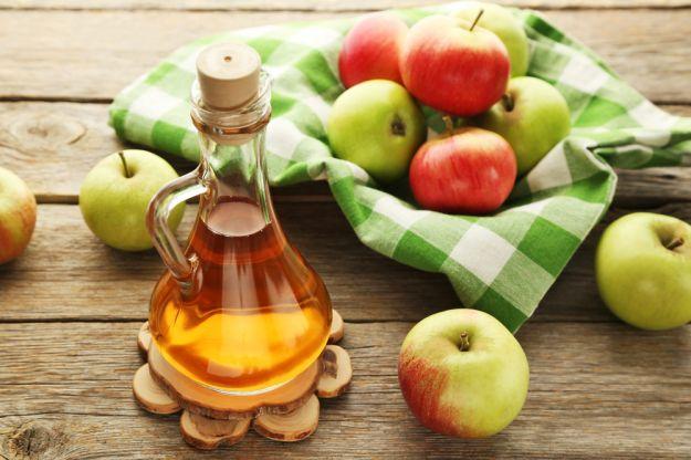 aceto di mele contro allergia