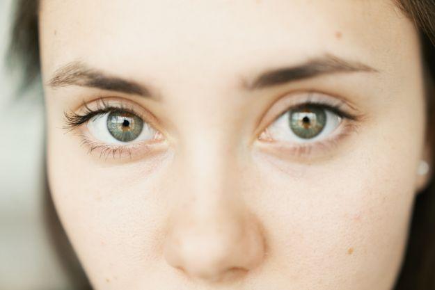 palming occhi
