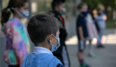 bambini mascherina covid