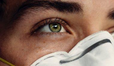 occhio mascherina