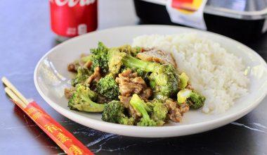 piatto riso verdure carne