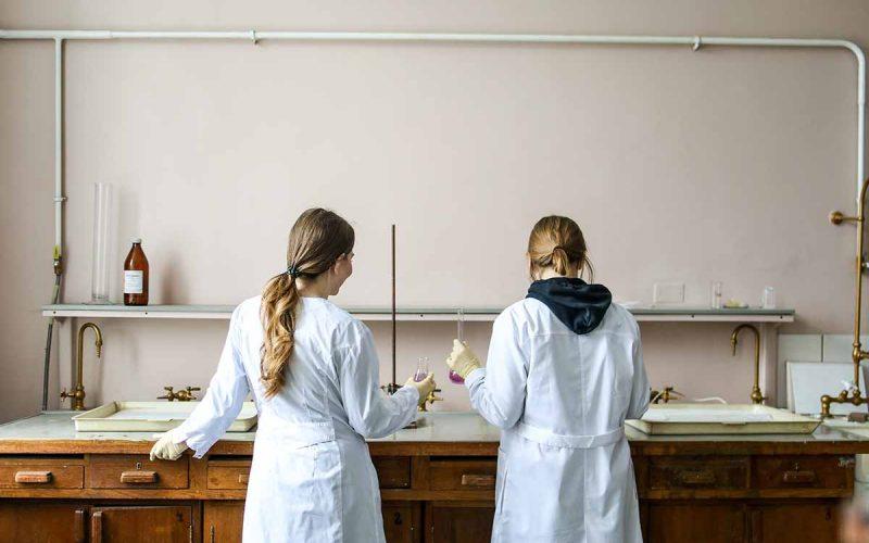 donne ragazze scienza