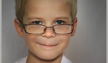 bambino occhiali
