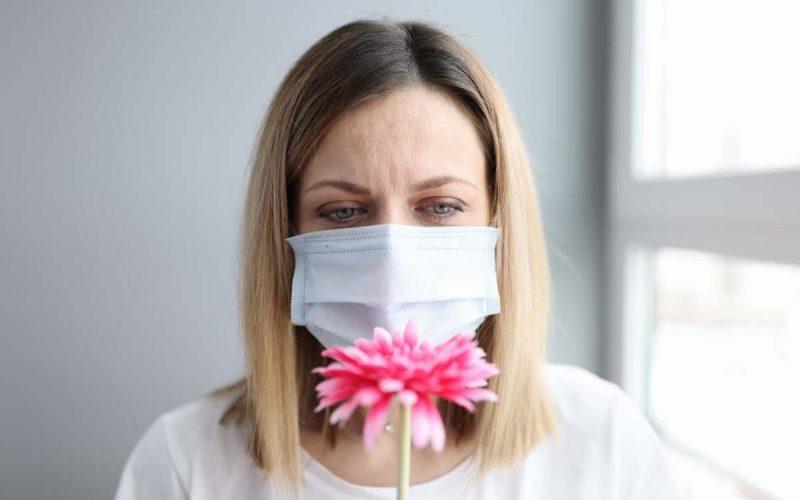 covid mascherina olfatto