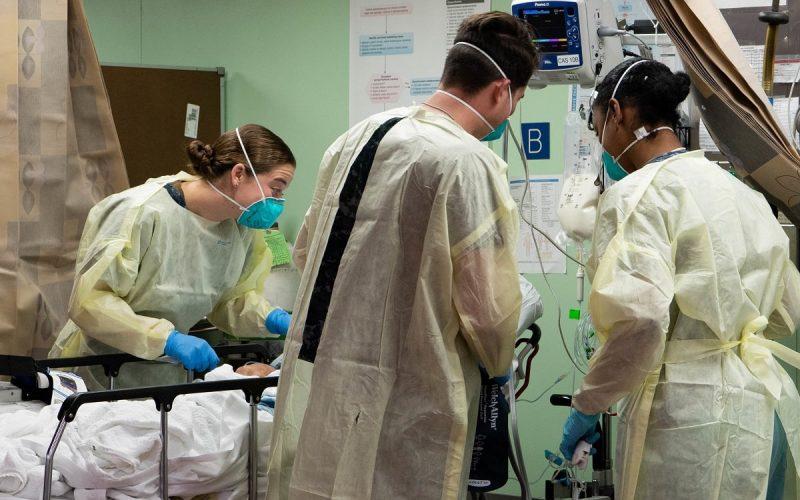Ospedale durante pandemia da Covid-19