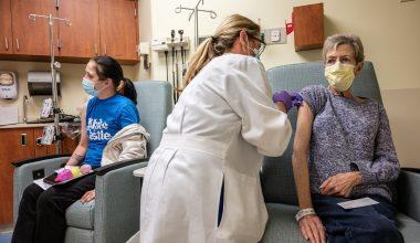 Paziente oncologico riceve vaccino contro il Covid-19